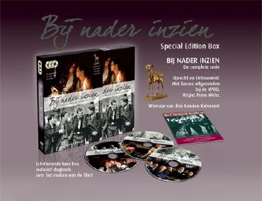 De DVD Box van Frans Weisz' BIJ NADER INZIEN