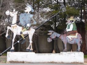 El Venta in Toledo - Don Quijote E Sancho Panza