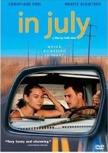 DVD cover IM JULI / IN JULY een film van Fatih Akin