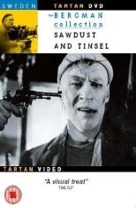 DVD Cover SAWDUST AND TINSEL, de film van Ingmar Bergman (1953)