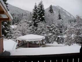 Sneeuwlandschap Bayern Beieren